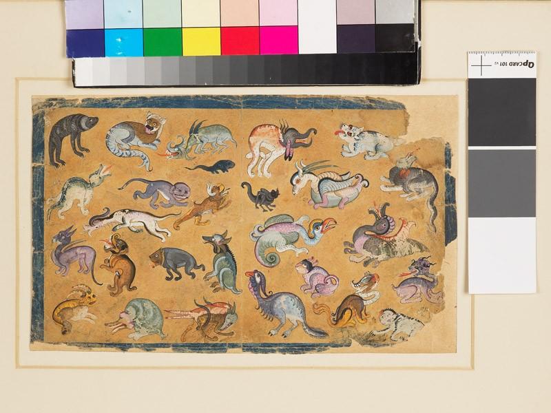 Grotesque animals (EA1958.130, front            )