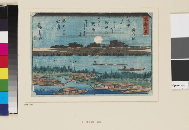 Autumn Moon on the Sumida River