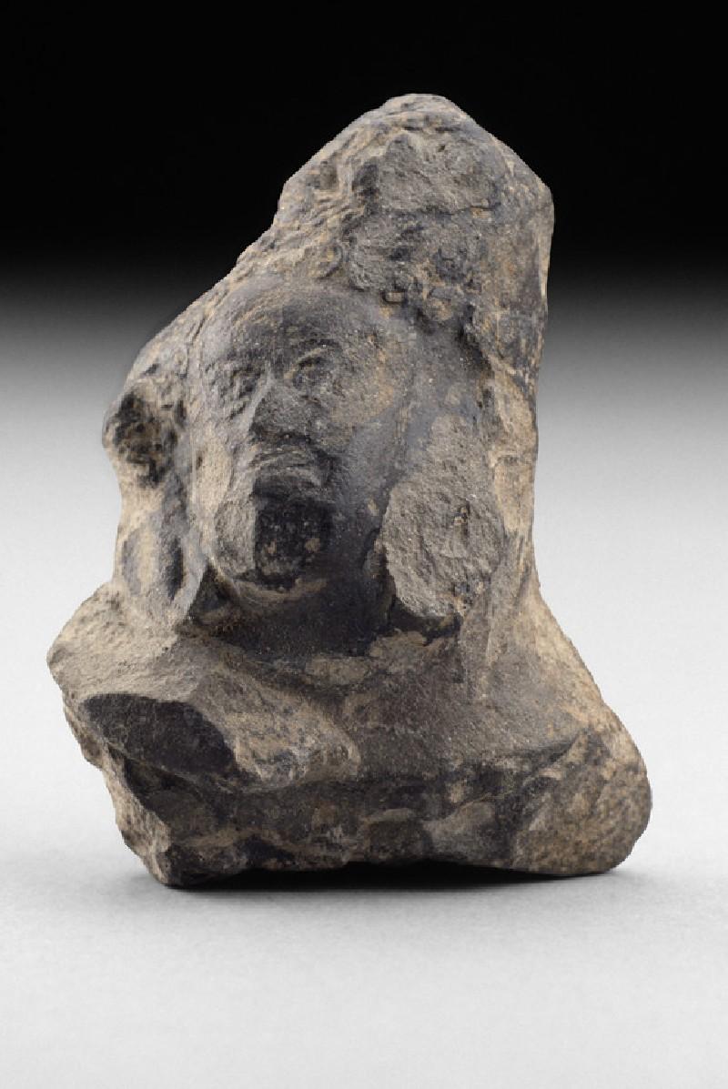 Head of a figure