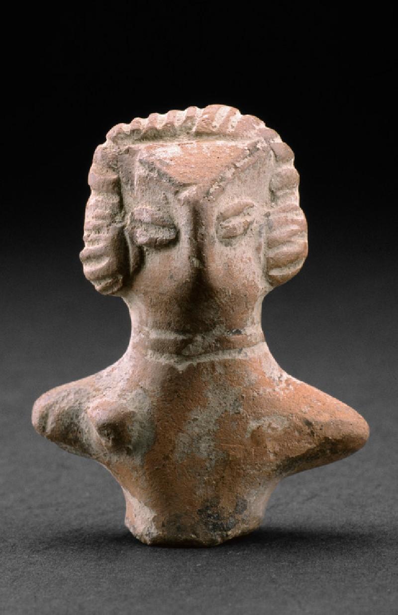 Fragmentary torso of a female figure