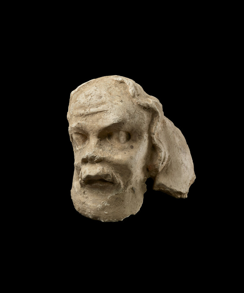 Head of an ascetic