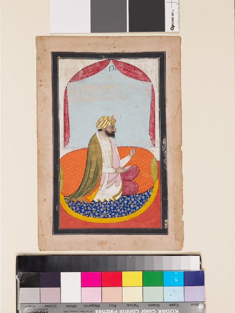 Portrait of a Raja, possibly Kharak Singh (EA1960.186, front            )
