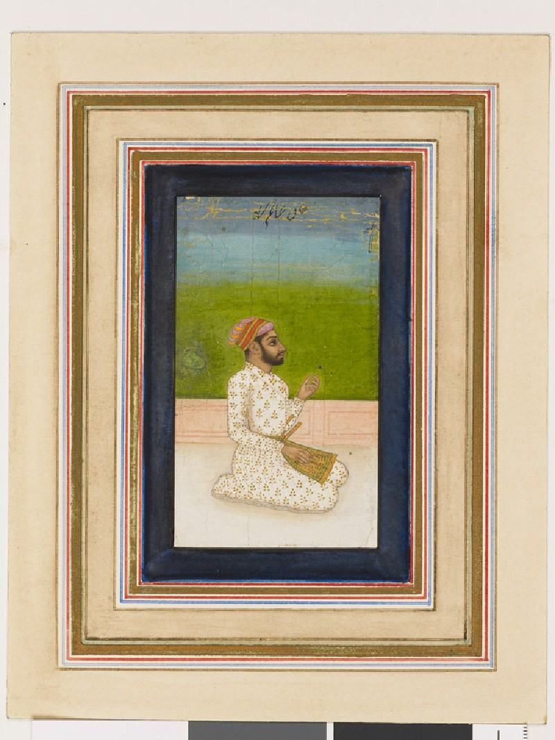 Khan-e-Alam, Commander of the Army of Shah Jahan (EA1960.187, front            )