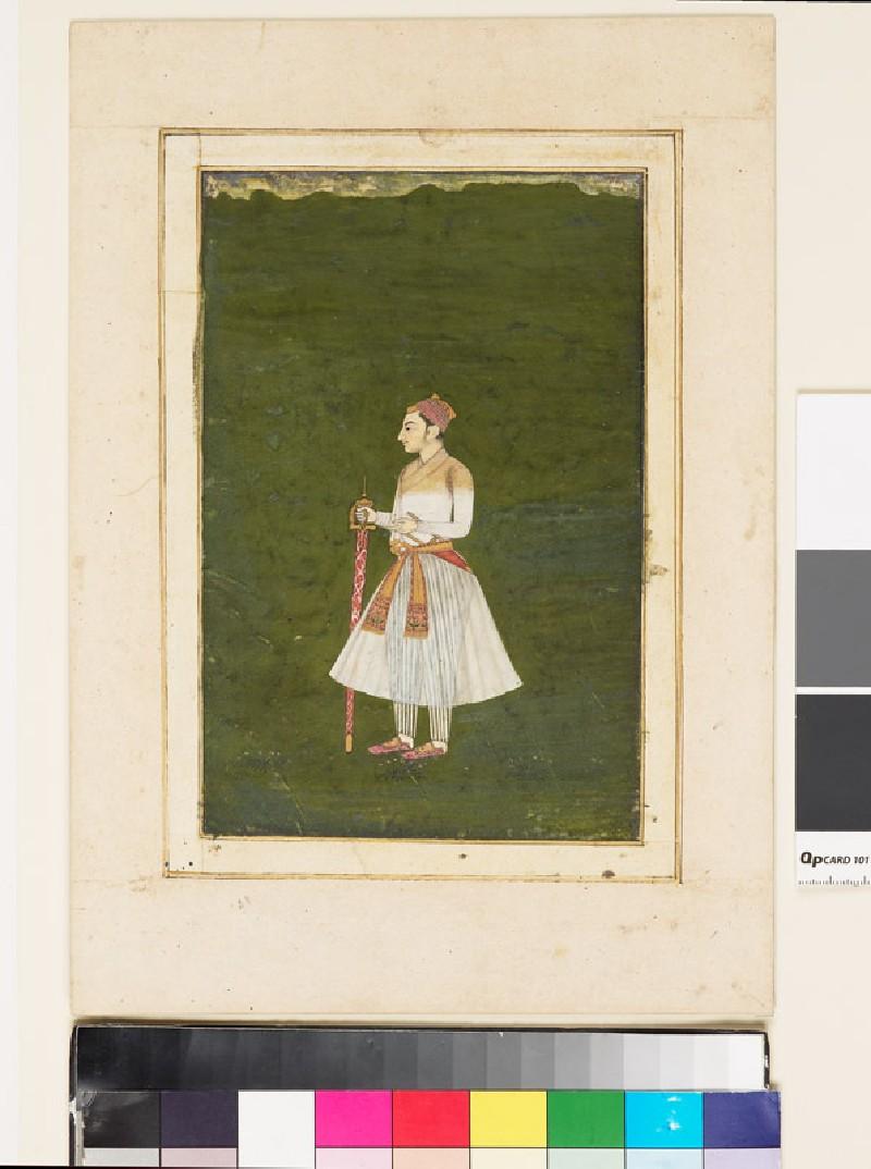 Roshan-ud-Dowlah as a young man