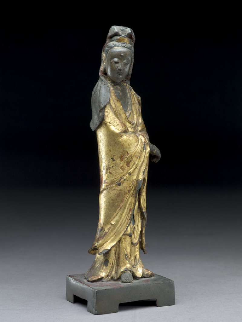 Standing figure of the bodhisattva Guanyin