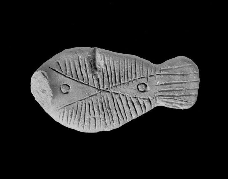 Figure of a fish, possibly a toy (EA1962.43)