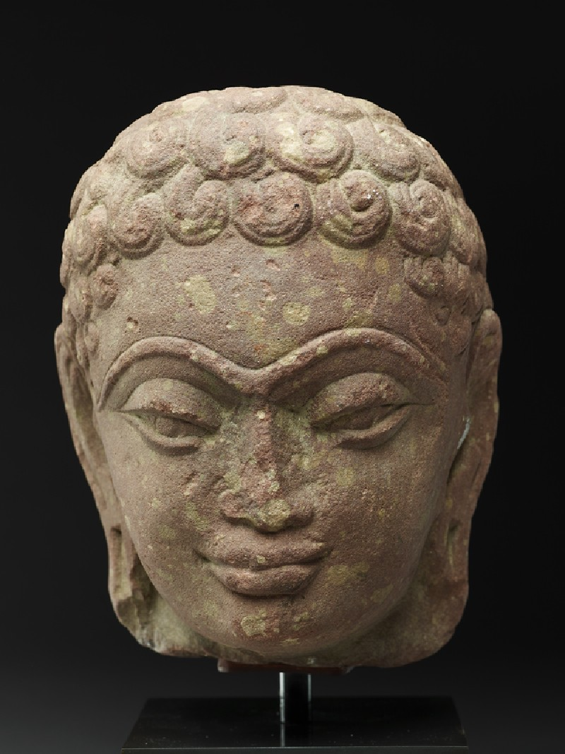 Head of a Jina (front           )