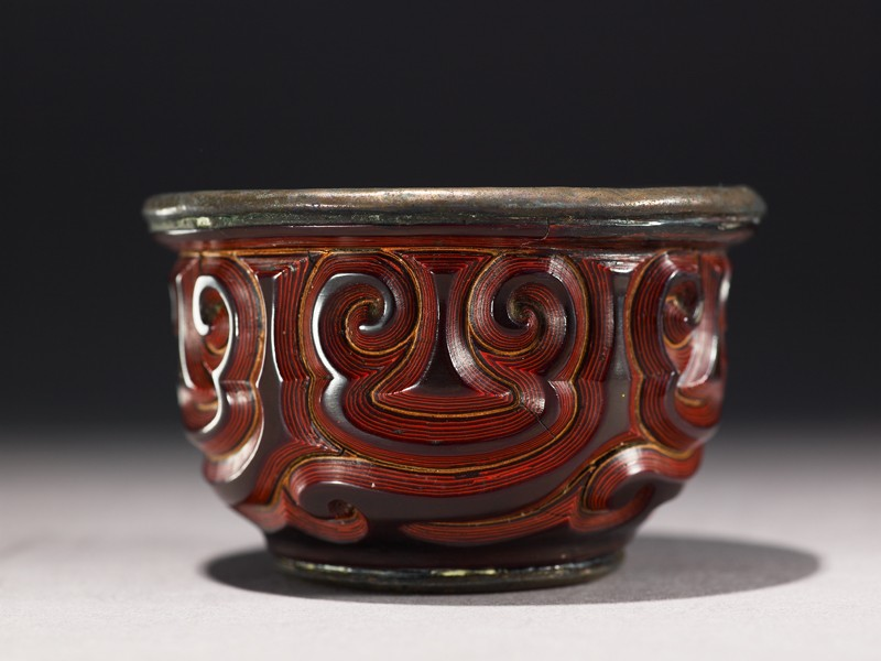 Cup with guri scrolling design (EA1964.169, side            )
