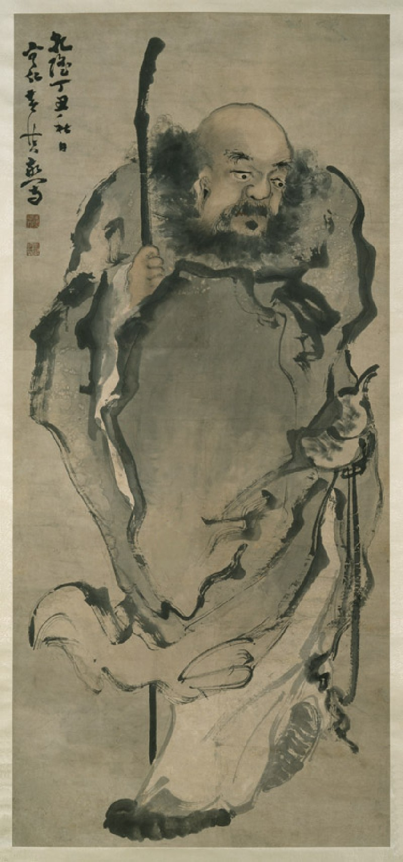 The hermit Li Tieguai (front, painting only           )