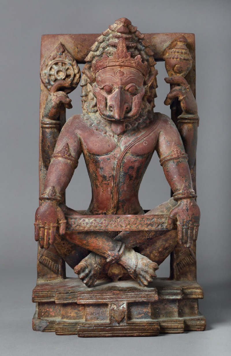 Figure of Narasimha, the man-lion incarnation of Vishnu