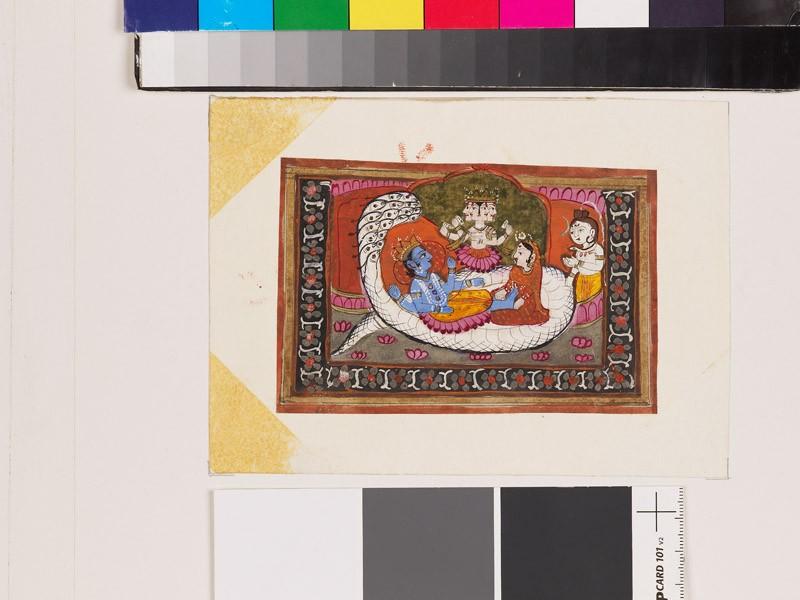 Vishnu Anantasayin (EA1967.158, front            )