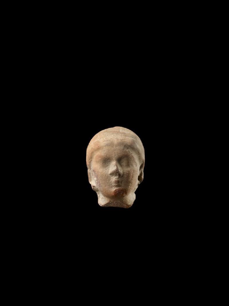 Head of a female figure