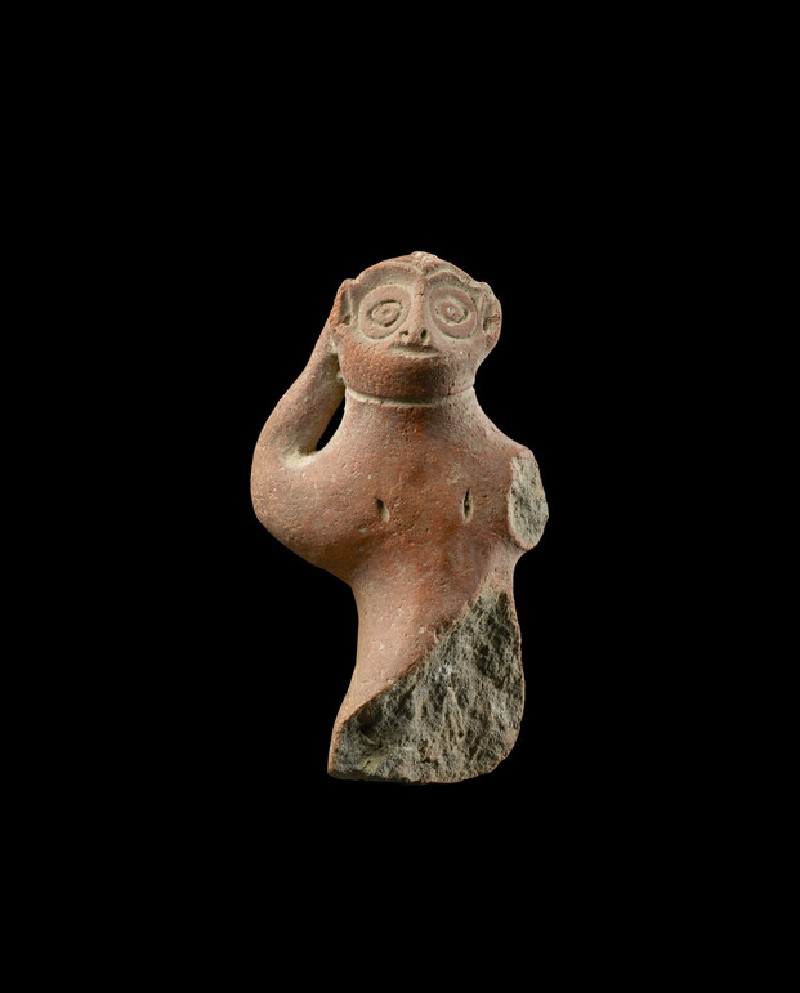 Fragmentary figure of a monkey (EA1967.91)