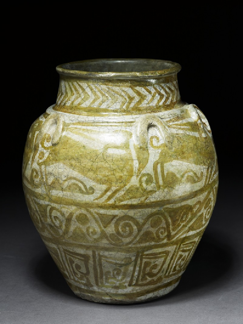 Jar with animal frieze (EA1968.94, oblique           )