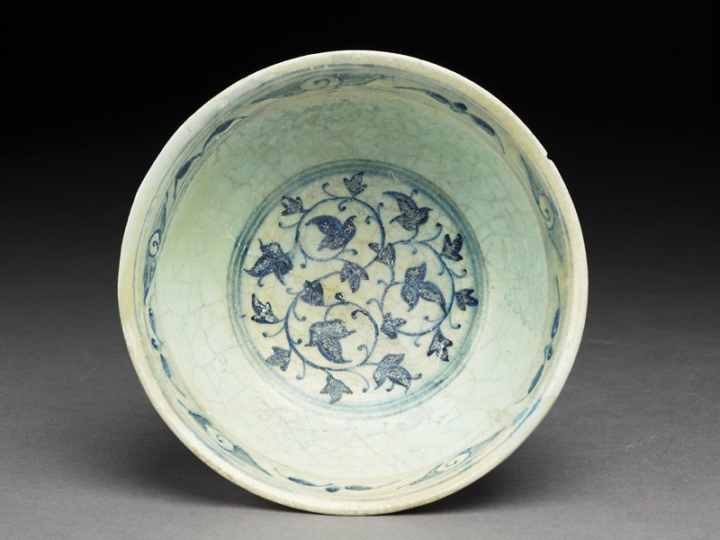 Bowl with foliate decoration (EA1969.7, top          )