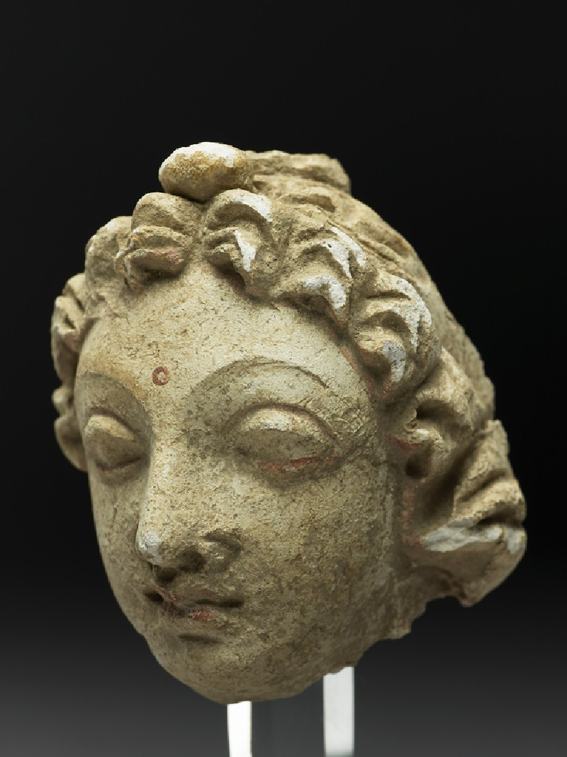 Head of a worshipper (EA1970.155, side            )