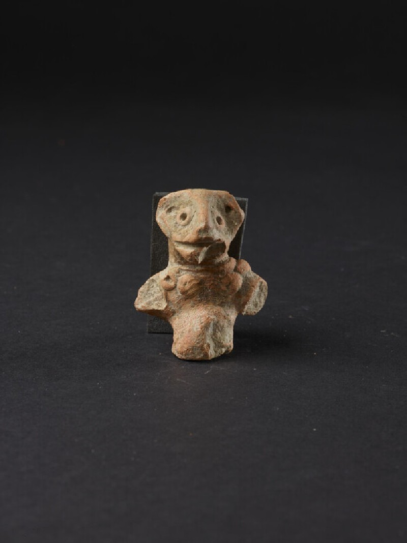 Fragmentary figure of a monkey