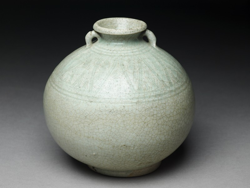 Greenware jar (EA1970.79, oblique           )