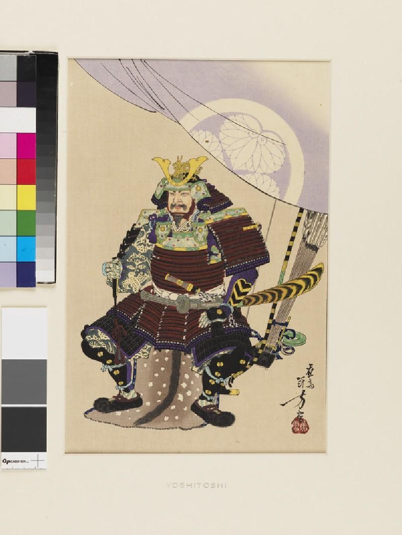 Tokugawa Ieyasu (EA1971.202, front            )