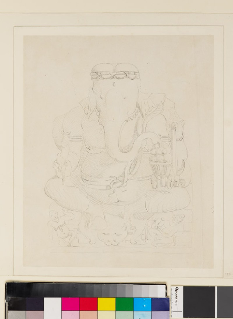 Seated Ganesha (front              )