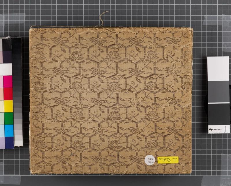 Album of poetry, wildlife, and Kyoto scenes (EA1973.128, front cover            )
