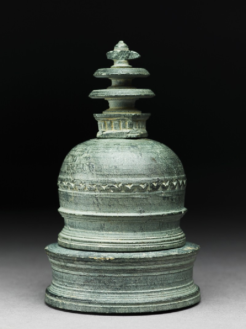 Reliquary in the form of a stupa