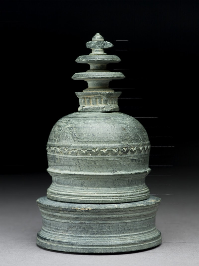 Reliquary in the form of a stupa (EA1978.127)