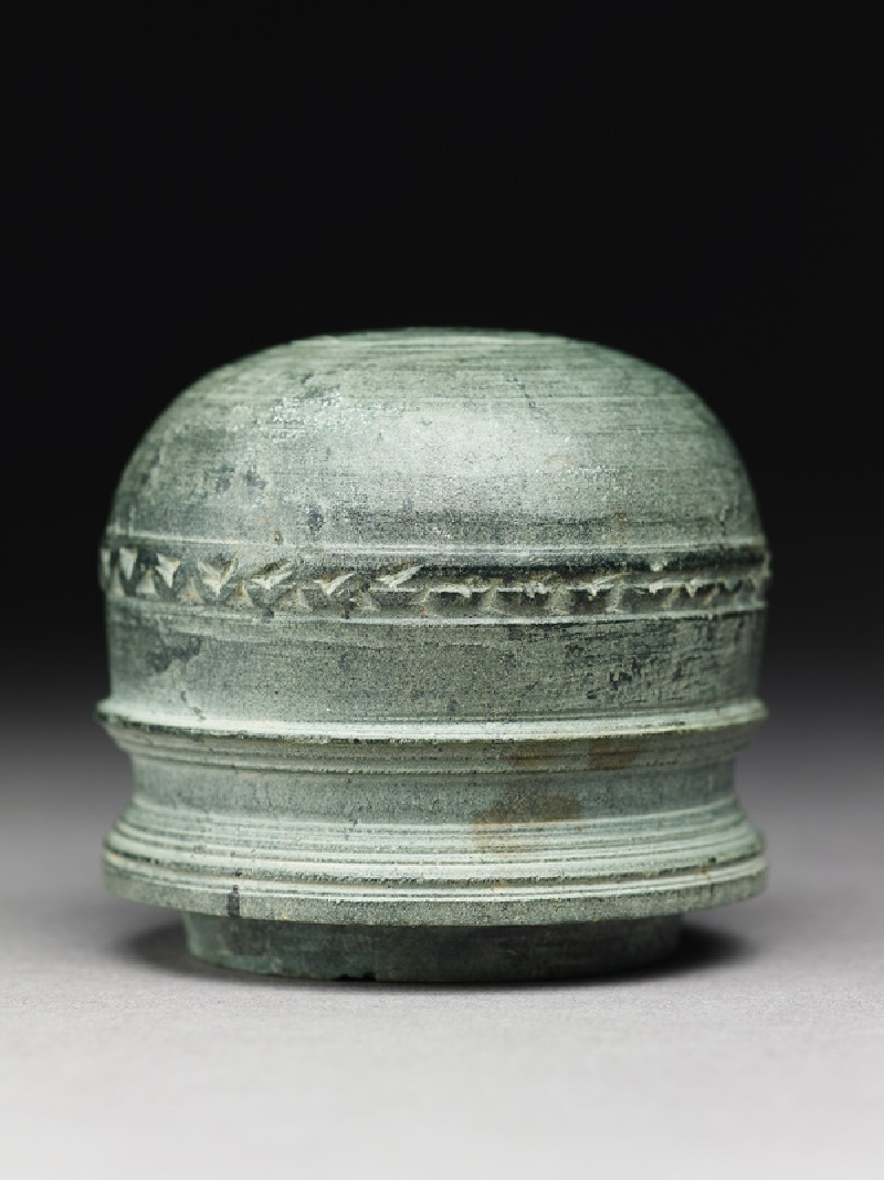 Dome of a reliquary in the form of a stupa (EA1978.127.b, side              )