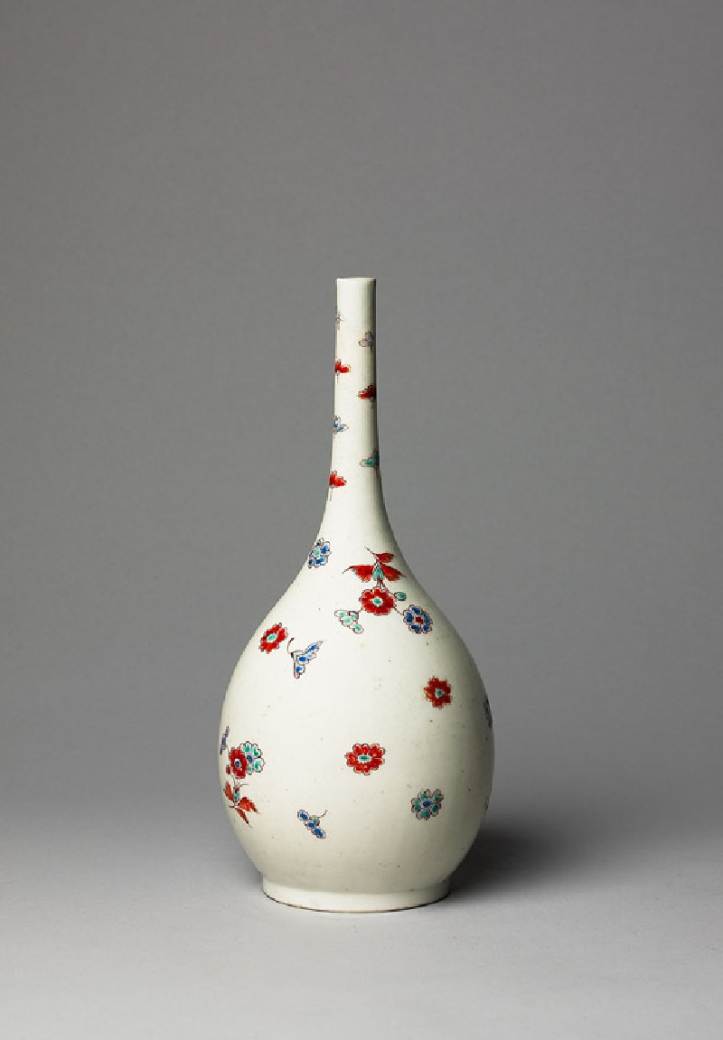 Bottle with floral sprays (side            )