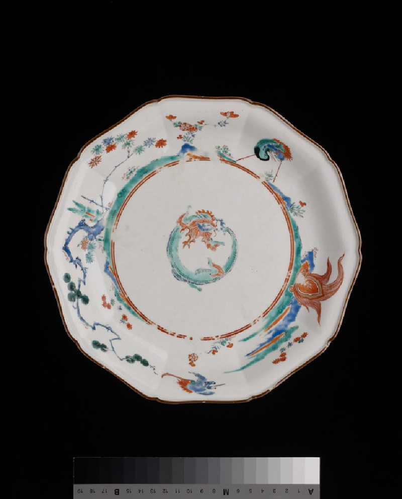 Foliated plate with dragon (EA1978.548, top            )