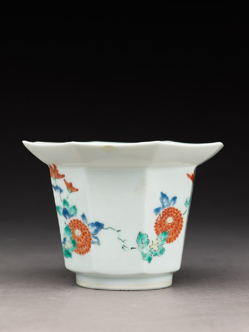 Tall bowl with chrysanthemum sprays (EA1978.549.a, side              )