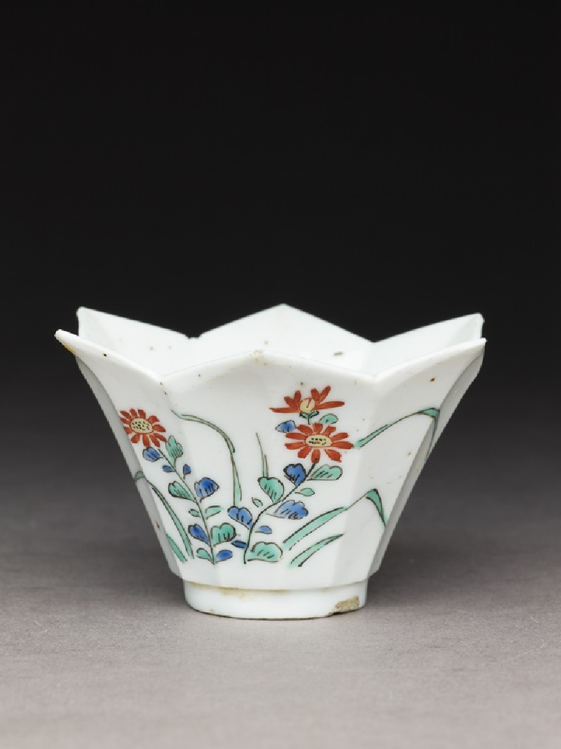 Cup of petalled form (EA1978.600, oblique            )