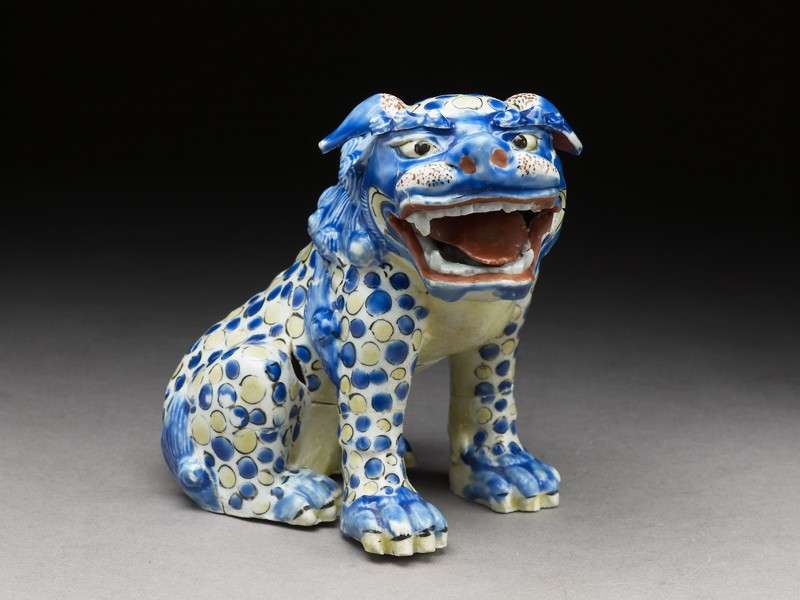 Figure of a shishi, or lion dog (EA1978.662, side            )