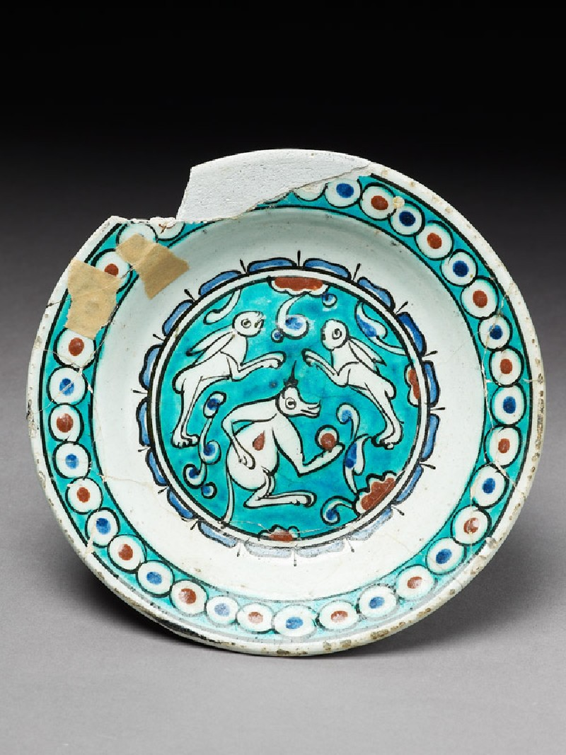 Dish with animals (EA1978.1443, top             )