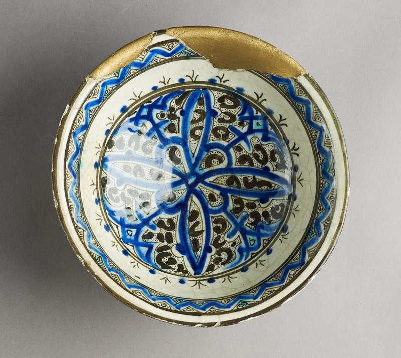 Bowl with rosette (EA1978.1607, top             )