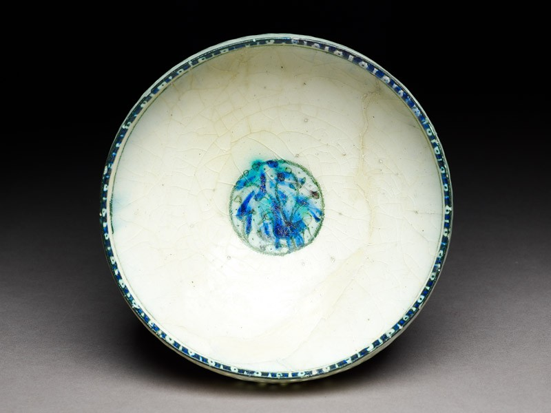 Bowl with duck beneath a tree (EA1978.1639, top             )