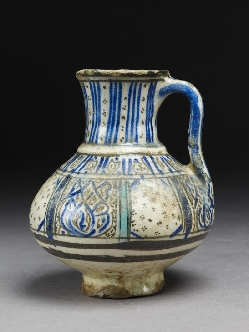Jug with panel decoration