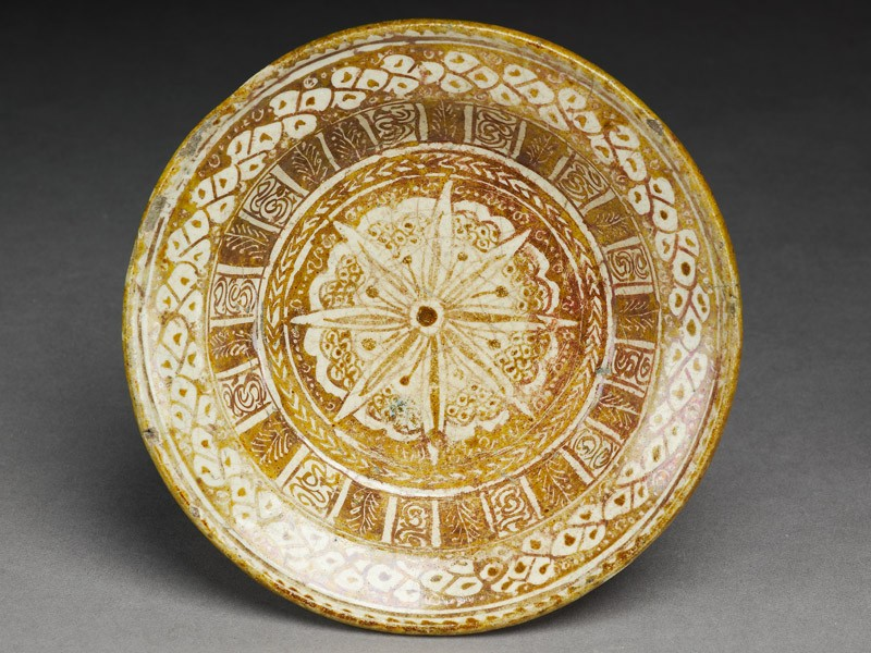 Dish with floral design (EA1978.1659, top             )