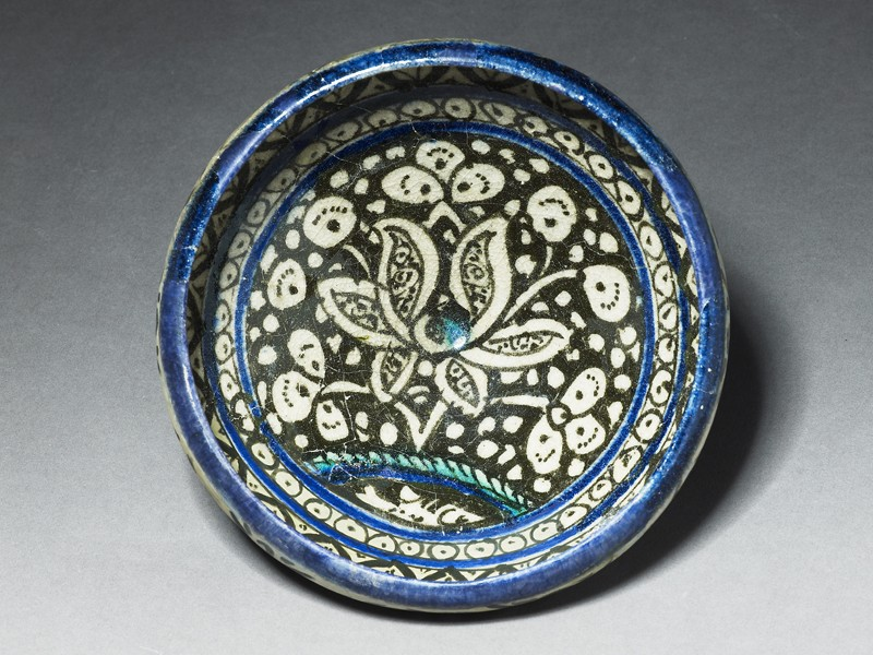 Bowl with lotus blossom (EA1978.1671, top             )