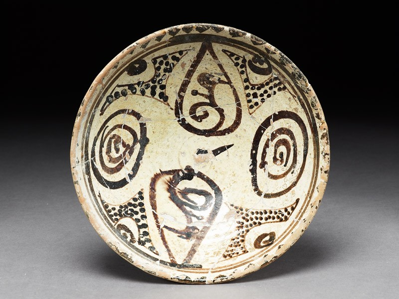 Bowl with abstract design (EA1978.1753, top             )