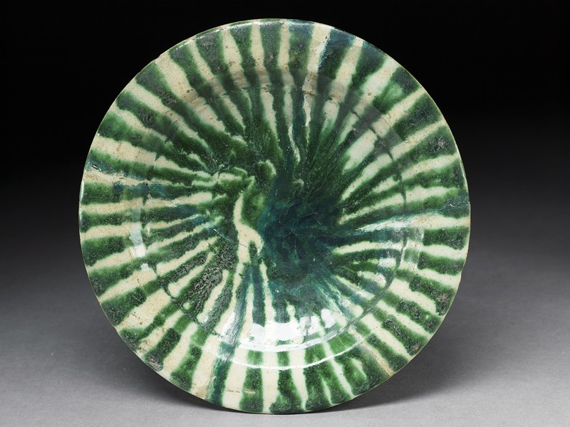 Dish with trailed decoration (EA1978.1763, top             )