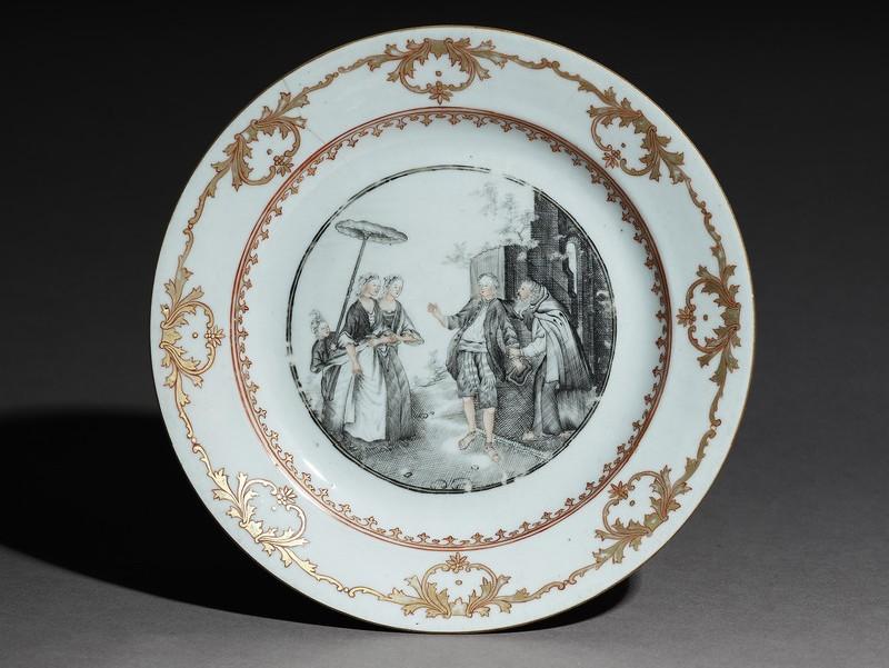 Saucer dish (EA1978.1836, top             )