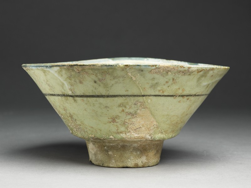 Bowl with radial design (EA1978.2196, side             )