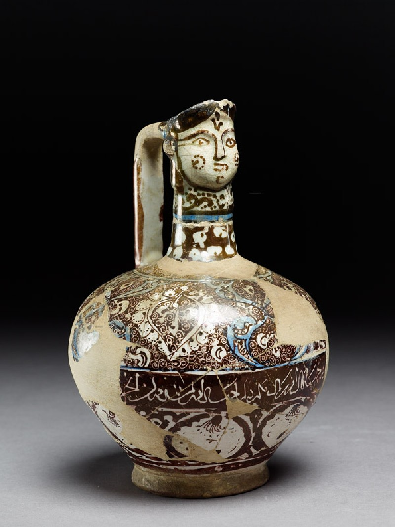 Ewer with human-headed spout