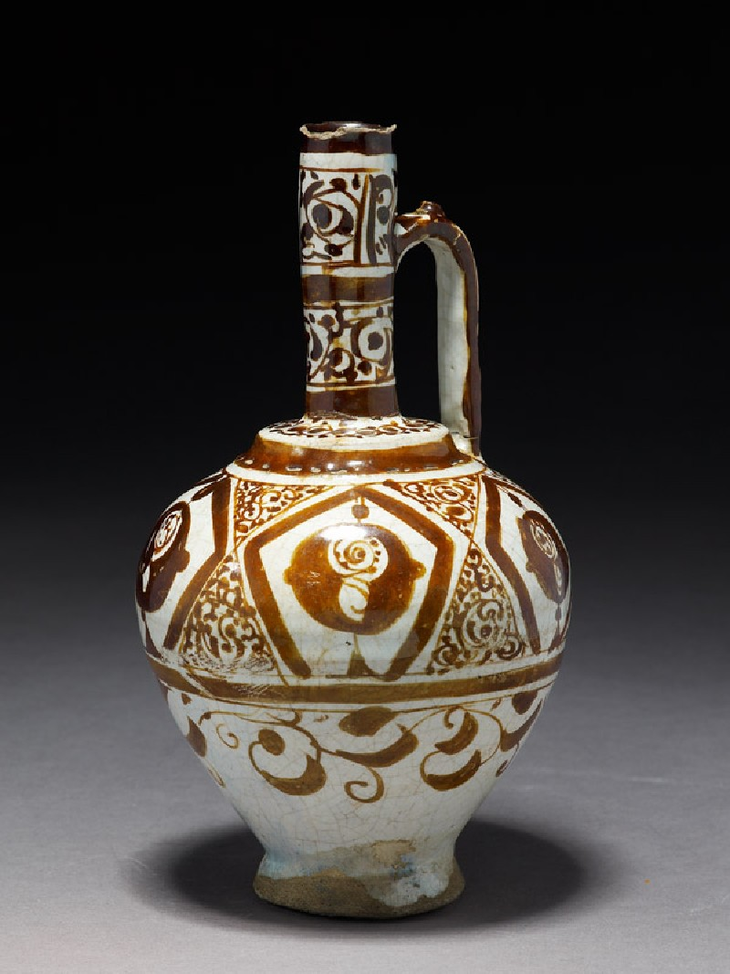 Ewer with stylized flowers (EA1978.2247, side             )