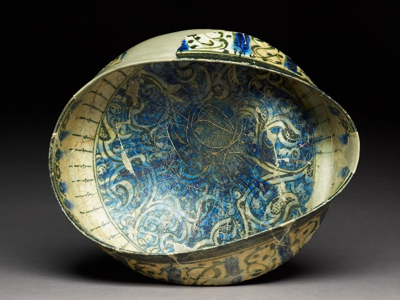 Bowl with arabesques (EA1978.2261, top             )