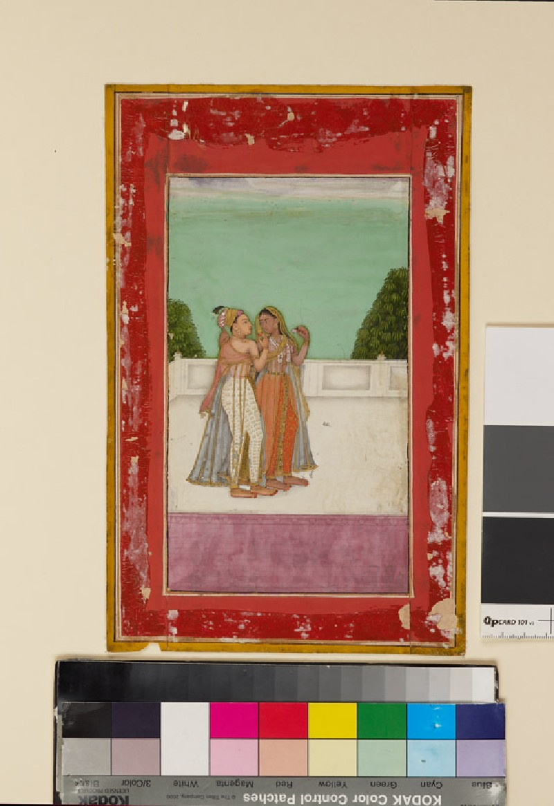 Lovers on a terrace (EA1978.2584, front             )