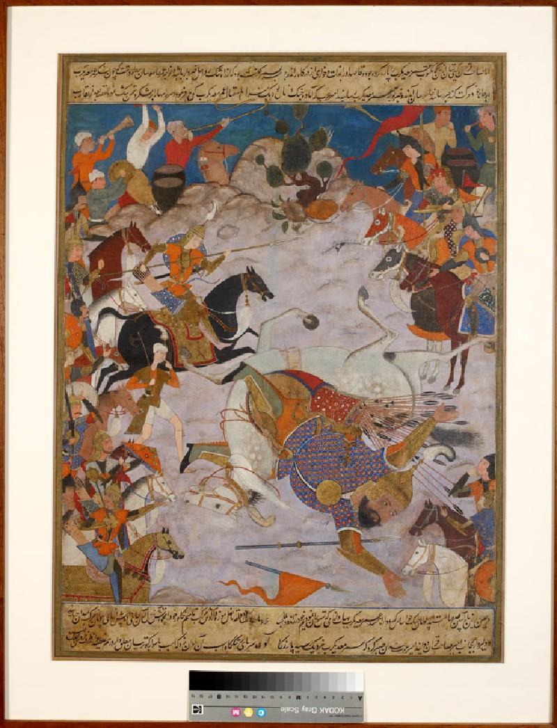 Amir Hamza defeats 'Umar-i Ma'di Karab