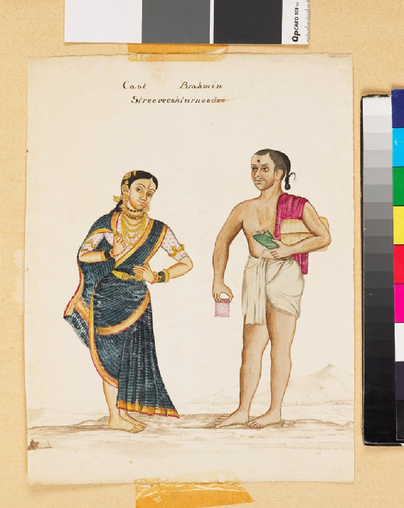 Cast Brahmin and Strivisturnudu (EA1979.4, front          )