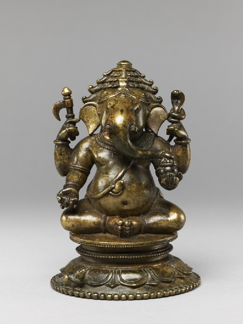 Figure of Ganesha (EA1980.64, front           )